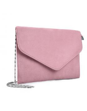 дамска елегантна чанта розова 0133032 в online магазин Fashionzona