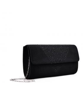 дамска елегантна чанта черна 0133006 в online магазин Fashionzona