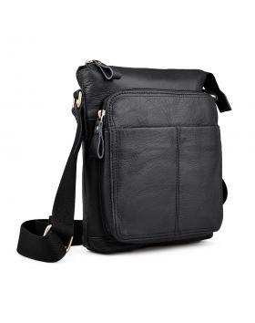 Мъжка ежедневна чанта черна 0133228 в online магазин Fashionzona