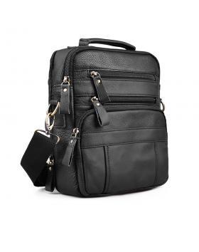 Мъжка ежедневна чанта черна 0133238 в online магазин Fashionzona