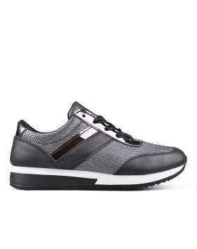 Дамски кецове черни 0132929 в online магазин Fashionzona