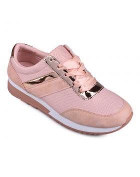 Розови дамски кецове Shanay в online магазин Fashionzona