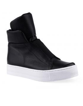 дамски ежедневни боти черни 0126032 в online магазин Fashionzona