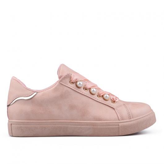 Розови дамски кецове Ricca