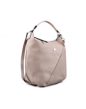 Бежова дамска ежедневна чанта 0133083 в online магазин Fashionzona