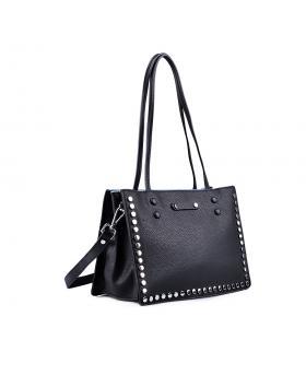 Черна дамска ежедневна чанта 0133217 в online магазин Fashionzona