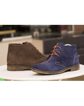 Сини мъжки ежедневни боти Montay в online магазин Fashionzona