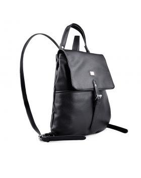 Черна дамска раница 0133162 в online магазин Fashionzona