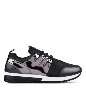 Черни дамски кецове 0132922 в online магазин Fashionzona