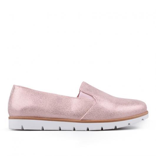 Розови дамски ежедневни обувки Delara