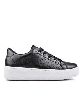 Черни дамски кецове 0132878 в online магазин Fashionzona