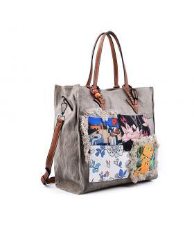 Дамска ежедневна чанта сива 0133169 в online магазин Fashionzona