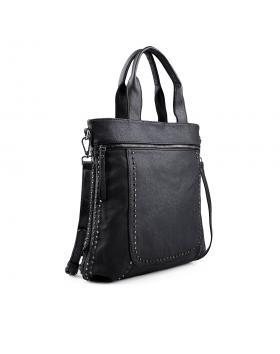 Черна дамска ежедневна чанта 0133074 в online магазин Fashionzona