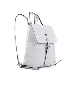 Бяла дамска раница 0133163 в online магазин Fashionzona