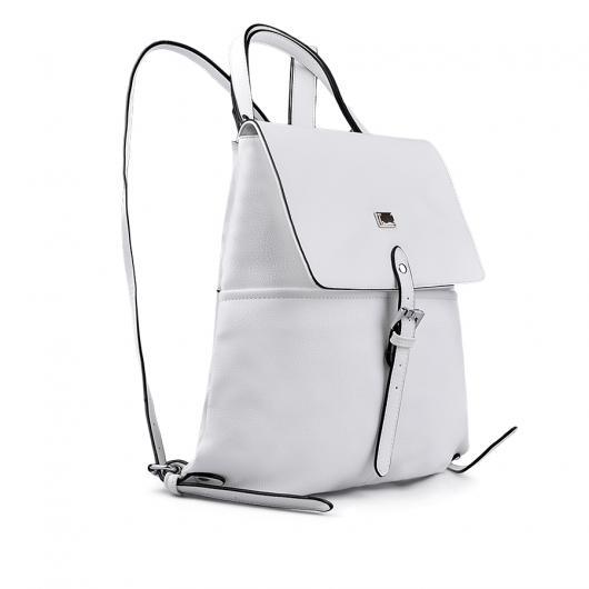 04aa15867c1 Бяла дамска раница Franci ⋙ на цена 39,92 лв — Fashionzona