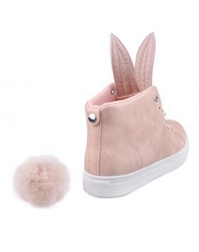 Розови дамски кецове Delicia в online магазин Fashionzona