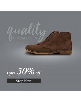 Кафяви мъжки ежедневни боти Orland в online магазин Fashionzona