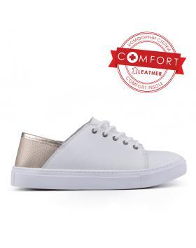 Дамски ежедневни обувки бели 0133440 в online магазин Fashionzona