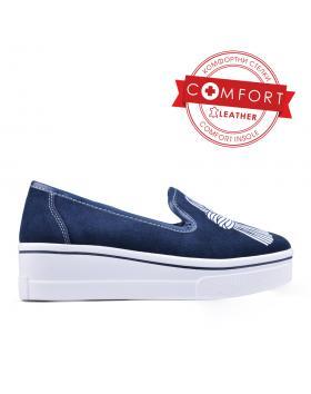 Дамски ежедневни обувки сини 0133432 в online магазин Fashionzona