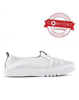 Бели дамски ежедневни обувки Yesemia в online магазин Fashionzona