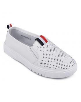 Дамски ежедневни обувки бели 0133995 в online магазин Fashionzona