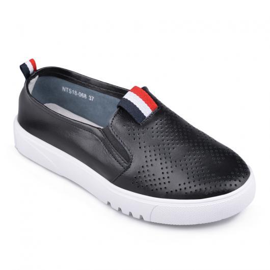 Черни дамски ежедневни обувки Sicily