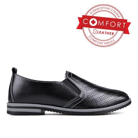 Черни дамски ежедневни обувки Melosa