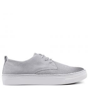 Мъжки кецове сиви 0133595 в online магазин Fashionzona