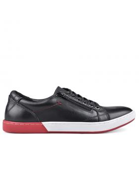 Черни мъжки кецове Alphonso в online магазин Fashionzona