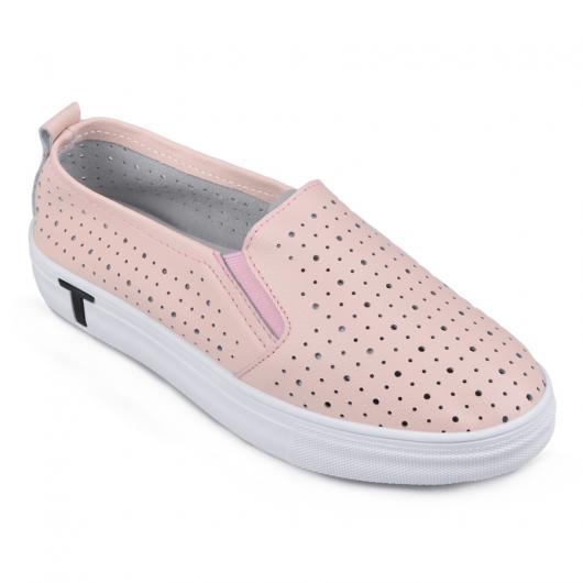 Розови дамски ежедневни обувки Belle