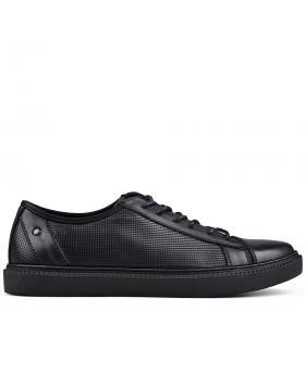 Черни мъжки кецове Domenico в online магазин Fashionzona