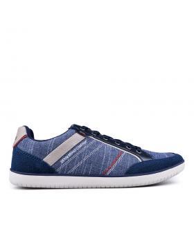Сини мъжки кецове Lucero в online магазин Fashionzona
