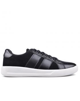 Черни мъжки кецове 0133601 в online магазин Fashionzona