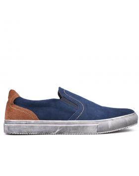Сини мъжки кецове 0133602 в online магазин Fashionzona