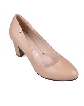 Бежови дамски елегантни обувки Janine в online магазин Fashionzona