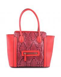 Червена дамска ежедневна чанта Nyasia в online магазин Fashionzona