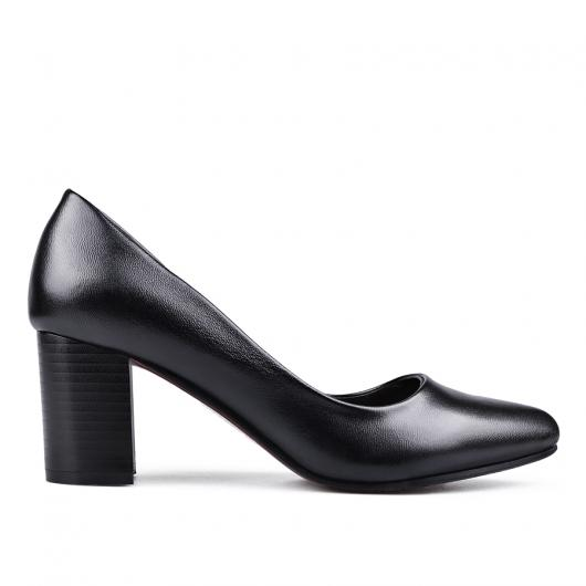 Черни дамски елегантни обувки Dhriti