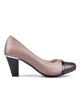 Дамски елегантни обувки бежови 0133109 в online магазин Fashionzona