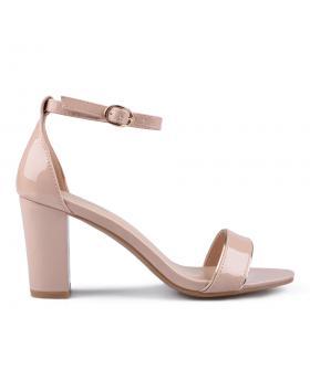 Дамски елегантни сандали бежови 0133843 в online магазин Fashionzona