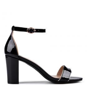 Дамски елегантни сандали черни 0133842 в online магазин Fashionzona