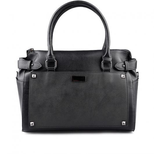 Черна дамска ежедневна чанта Kyndal