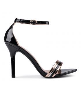 Дамски елегантни сандали черни 0133839 в online магазин Fashionzona