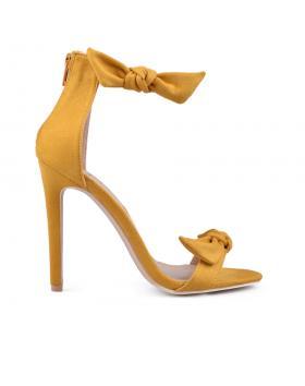 Дамски елегантни сандали жълти 0133810 в online магазин Fashionzona