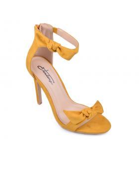 Жълти дамски елегантни сандали Josilyn в online магазин Fashionzona