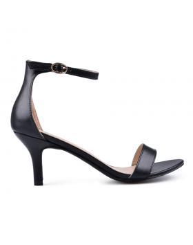 Дамски елегантни сандали черни 0133825 в online магазин Fashionzona