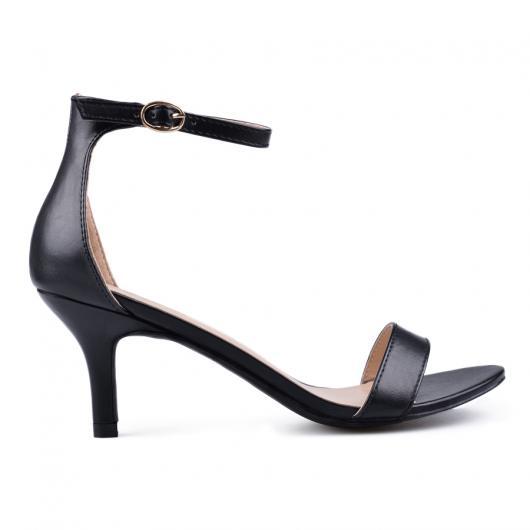 Черни дамски елегантни сандали 0133825