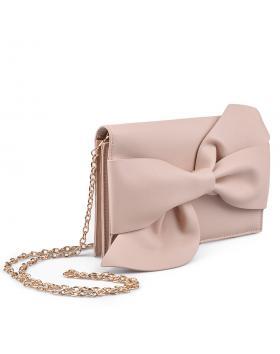 Дамска елегантна чанта бежова 0134369 в online магазин Fashionzona