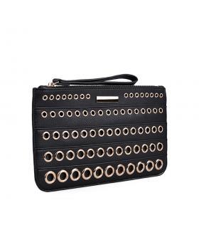 Черна дамска елегантна чанта 0134378 в online магазин Fashionzona