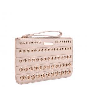 Розова дамска елегантна чанта Leah в online магазин Fashionzona