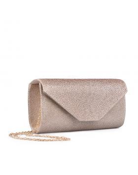 Бежова дамска елегантна чанта 0134390 в online магазин Fashionzona
